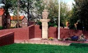 Herdenkingsmonument periode 1940 - '45 in Wieringermeer