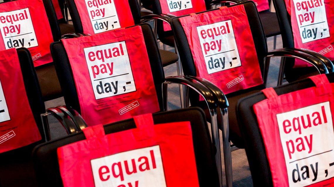 Equal Pay Day, Symbolbild. Foto: Inga Haar