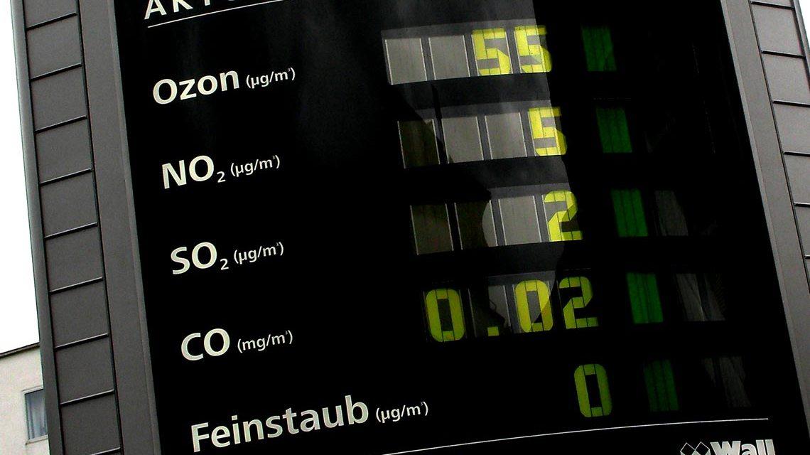 Moderne Luftmessung und Anzeige der Ergebnisse. Bild: Hartmut 910 / pixelio.de