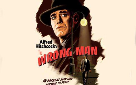 """Filmplakat zum Film """"The Wrong Man"""""""