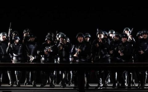 """Mit dem vierten Teil """"Götterdämmerung"""" in nur einer Spielzeit schließt Eric Uwe Laufenberg den Ring im Staatstheater Wiesbaden. Bild: Karl + Monika Frórster"""