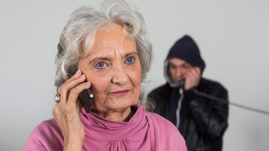 Vorsicht: Betrug per Telefon Bild: Bankenverband