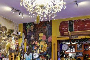 Blickrichtung Gastraum Bar im Trimonzium. Bild: Volker Watschounek