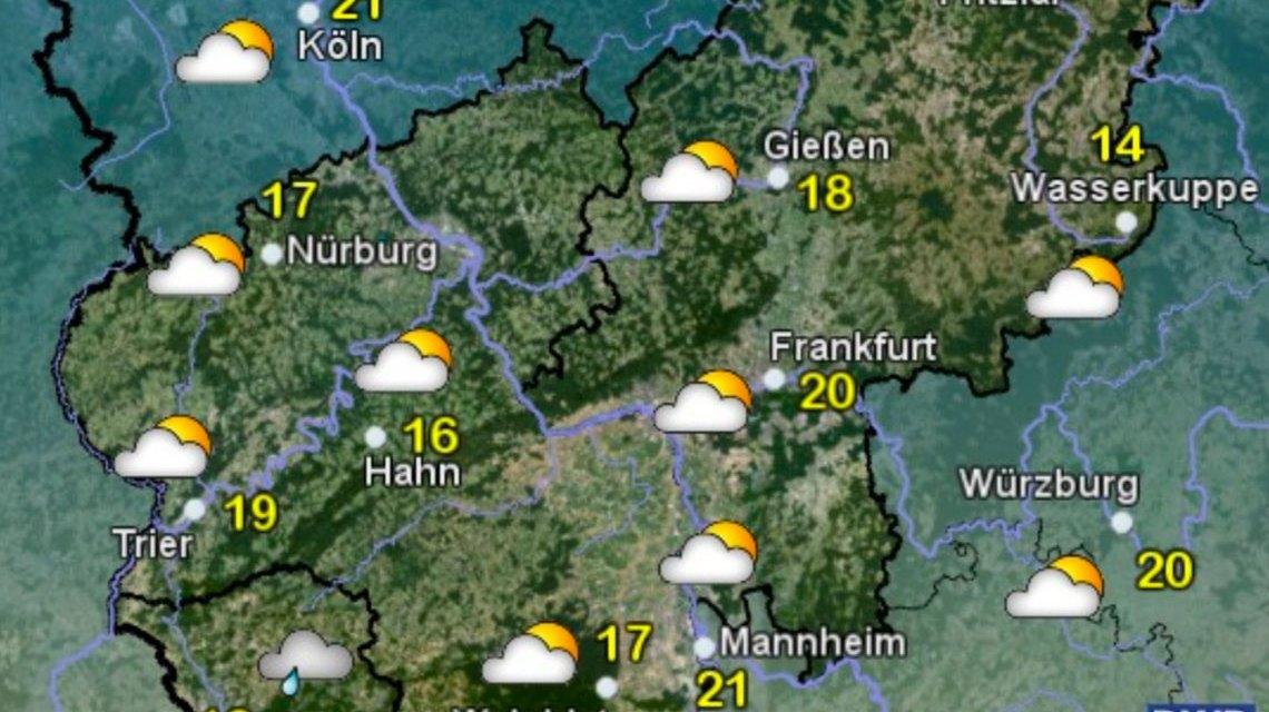 Wetter Wiesbaden Wochenende
