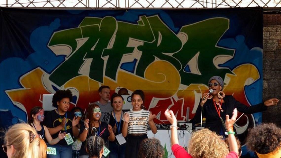 Blick auf die Bühne während des Festivals - Bild: Veranstalter