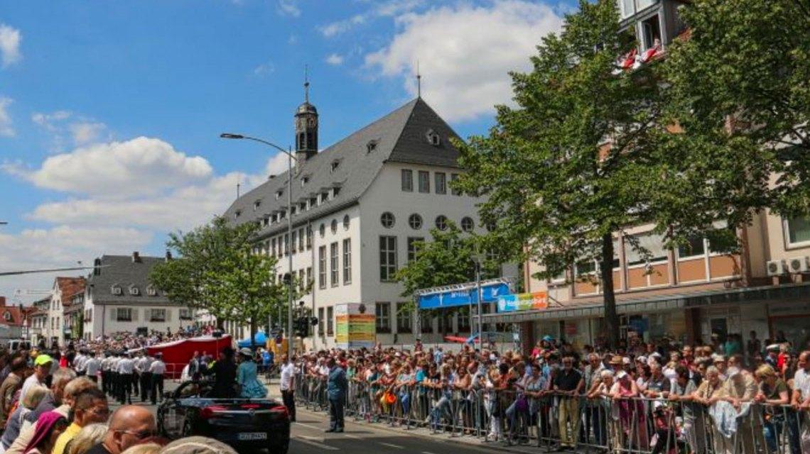 1.400.000 Besucher feiern den 57. Hessentag