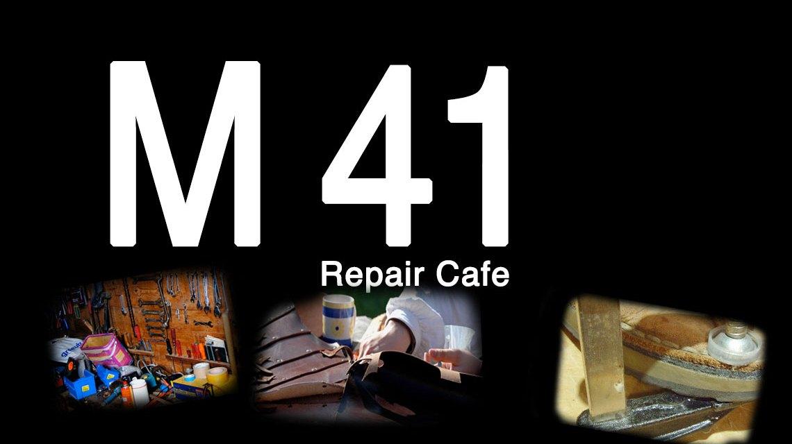 """Aus dem Repair Café on Tour wird das neue """"M41 Repair Café. Bild: Volker Watschounek"""