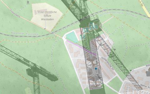 Der Weg für Wiesbadens nächste Großbaustelle ist frei. Bild: Open Street / Volker Watschounek