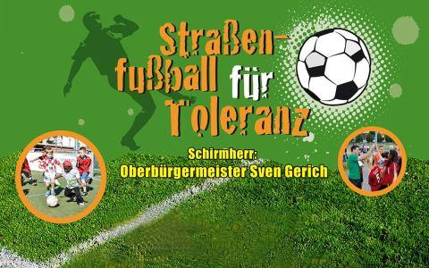 Street Soccer in Kastel Housing. Bild: Stadt Wiesbaden