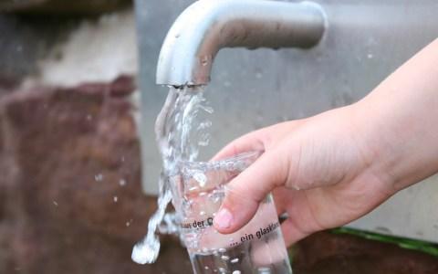 Trinkbrunnen, Wasser in bester Qualität. Bild: SVS Villingen Schwenningen
