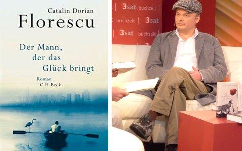 Catalin Dorian Florescu liest im Literaturhaus. @2017 Amazon / Armei Marie CC-BY-SA-3.0