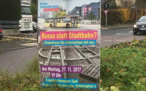 Die Diskussion um die City-Bahn geht weiter. ©2017 Volker Watschounek
