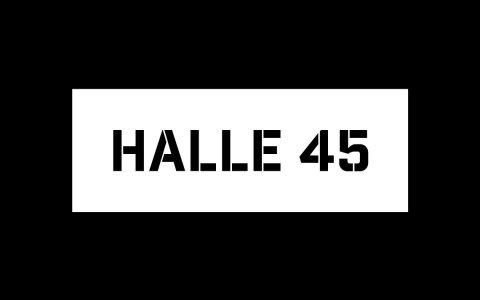 Halle 45 Logo, bearbeitet Volker Watschounek