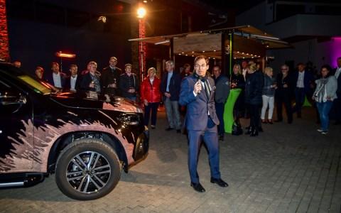 Jochen Kreit bei der Vorstellung der X-Klassen. Bild: Volker Watschounek