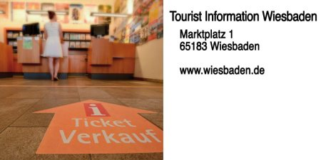 Partnereintrag Tourist Information Wiesbaden ©2017 Volker Watschounek / Wiesbaden Marketing
