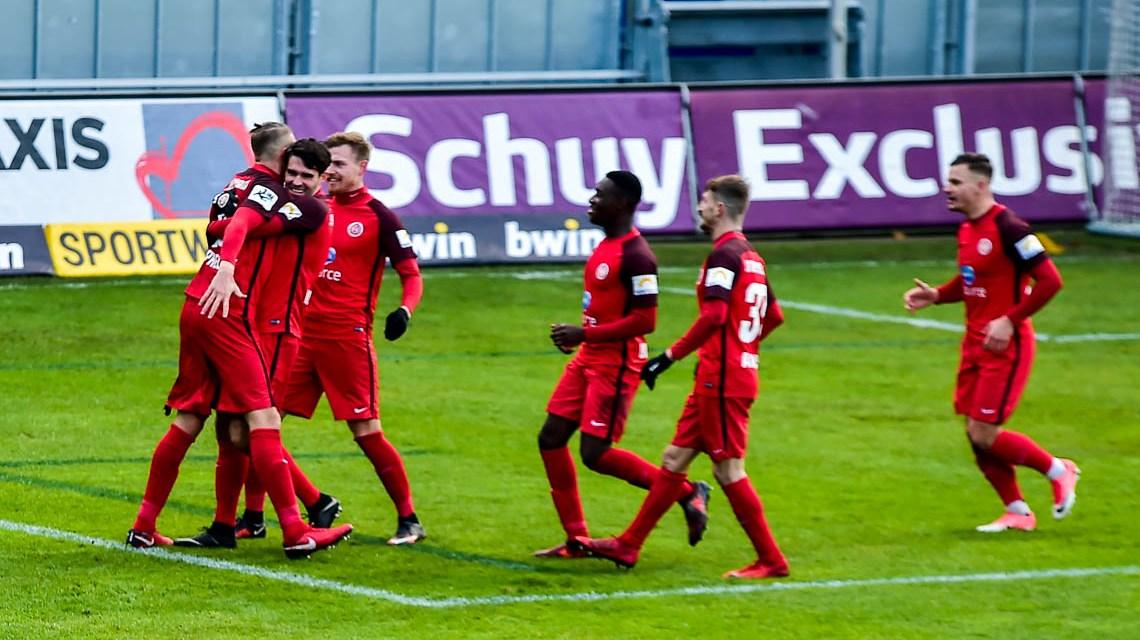 18. Spieltag, 3. Liga, 2017.2018   SV Wehen Wiesbaden : SCV Paderborn 07   4:1 ©2017 Volker Watschounek