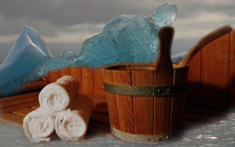 Kalt und Warm passt eigentlich nicht zusammen. In der Sauna ist es jedoch umso schöner, je extremer die Unterschiede sind.