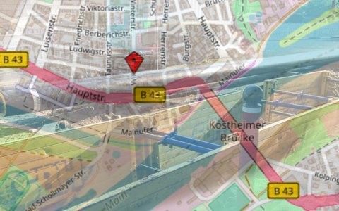 Straßen- und Kanalerneuerung in der Winterstraße ©2018 Volker Watschounek / Openstreetmap