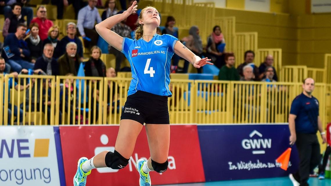 Viertelfinale? Wiesbaden verliert 0:3 gegen die Ladies in Black