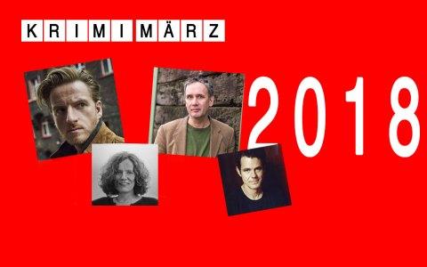 Der KrimiMärz in Wiesbaden. ©2018 Volker Watschounek