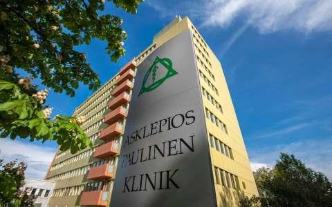 Außenansicht der Asklepios Paulinen Klinik.