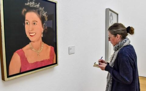 Gerhard Richtres frühen Bilder im Museum Wiesbaden. ©208 Volker Watschounek
