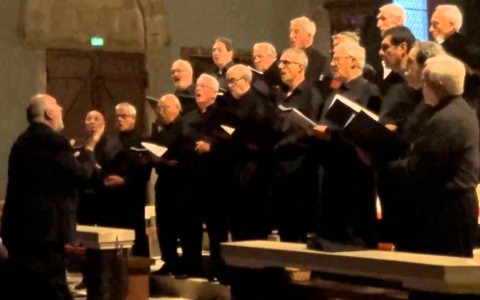 Der Chor Cámara Gaztelupe aus San Sebastián kommt nach Wiesbaden. ©2018 Youtube