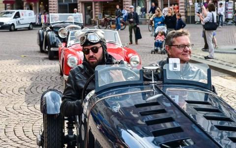 Die HMSC Oldtimer Rallye zählt zu den führenden Veranstaltungen in Europa. Siet 34 Jahren fest im Kalender der Landeshauptstdt verankert, ist sie der Jahreshöhepunkt im Mai. ©2018 Volker Watschounek
