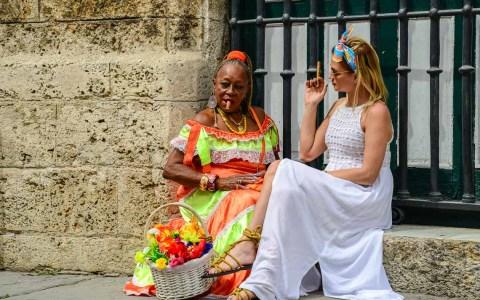 Nein, das ist nicht Susanna O. Es ist ein Bild aus Havanna. ©2018 Volker Watschounek