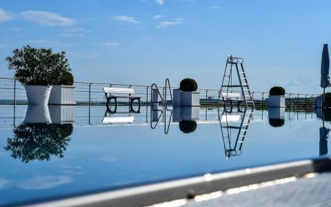 Archivbild: Das Opelbad zwei Tage vor Saisonbeginn. ©2018 Volker Watschounek