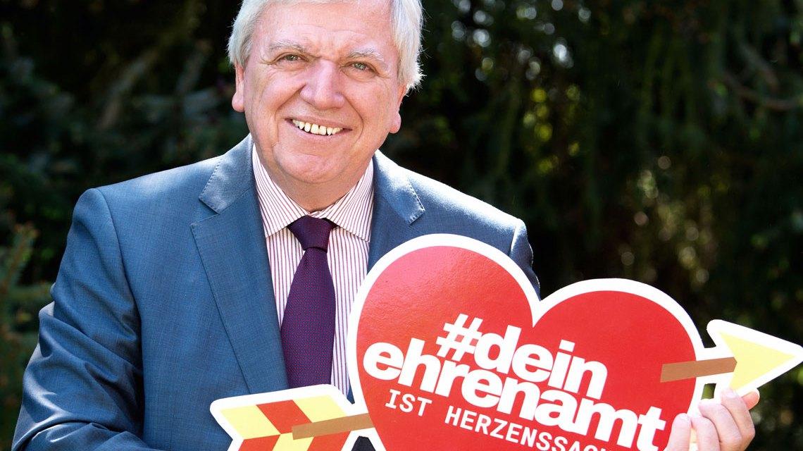 Volker Bouffier #deinehrenamt ©2018 Hessische Staatskanzlei