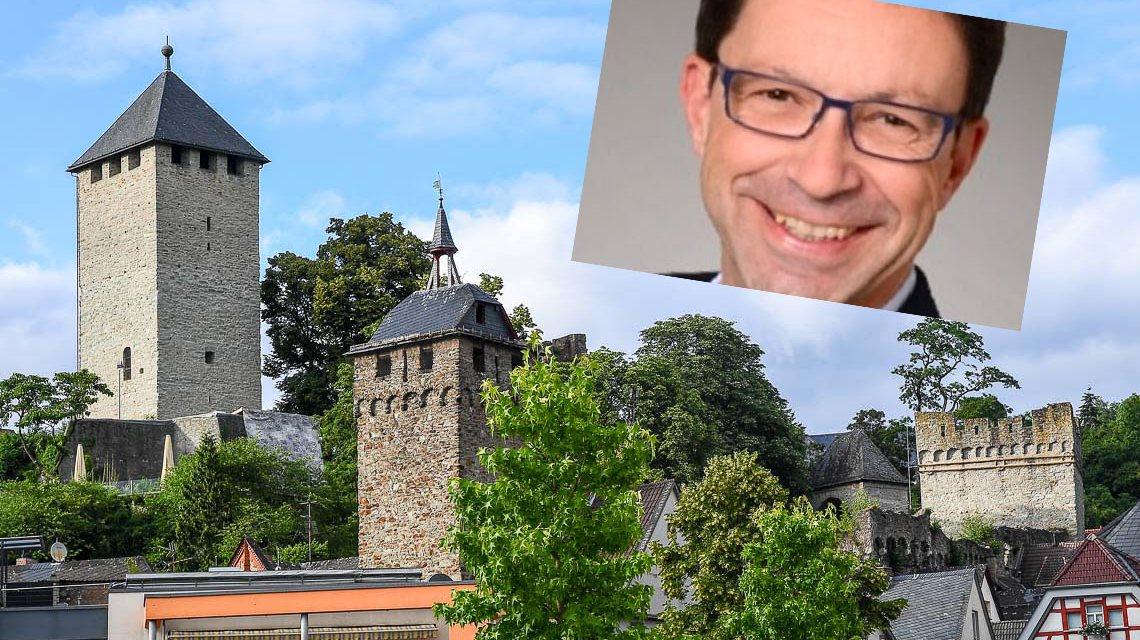 Ortsbeiratsmitglied Stefan Bauer ist neuer Ortsvorsteher in Wiesbaden Sonnenberg. ©2018 Fotomontage Volker Watschounek / Privat