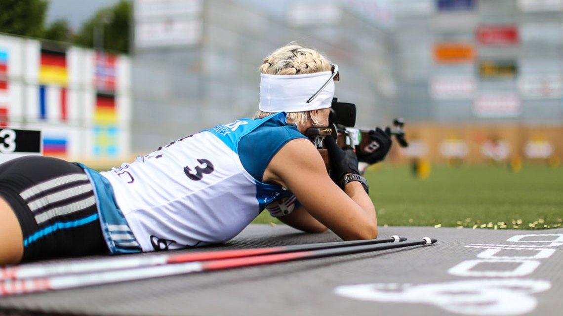 Sommer, Rolle, Schießen, der Biathlon erpbert die Stadt. ©2018 n plus Sport GmbH