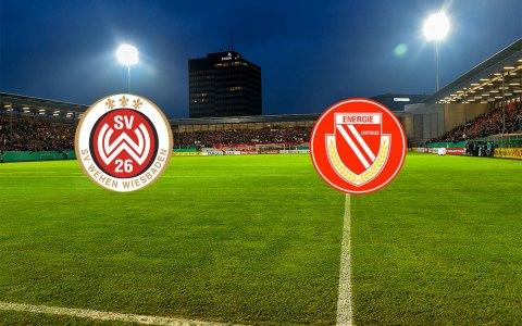 3. Liga | 2. Spieltag | SV Wehen Wiesbaden - FC Energie Cottbus | Brita Arena @2018 Fotomontage Volker Watschounek
