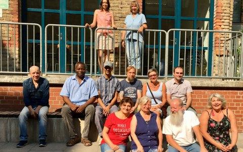 Seit Juni sind auch 18 Wiesbadenerinnen und Wiesbadener zusätzlich an den örtlichen Schulen tätig. Diese gehören dazu. ©2018 Stadt Wiesbaden