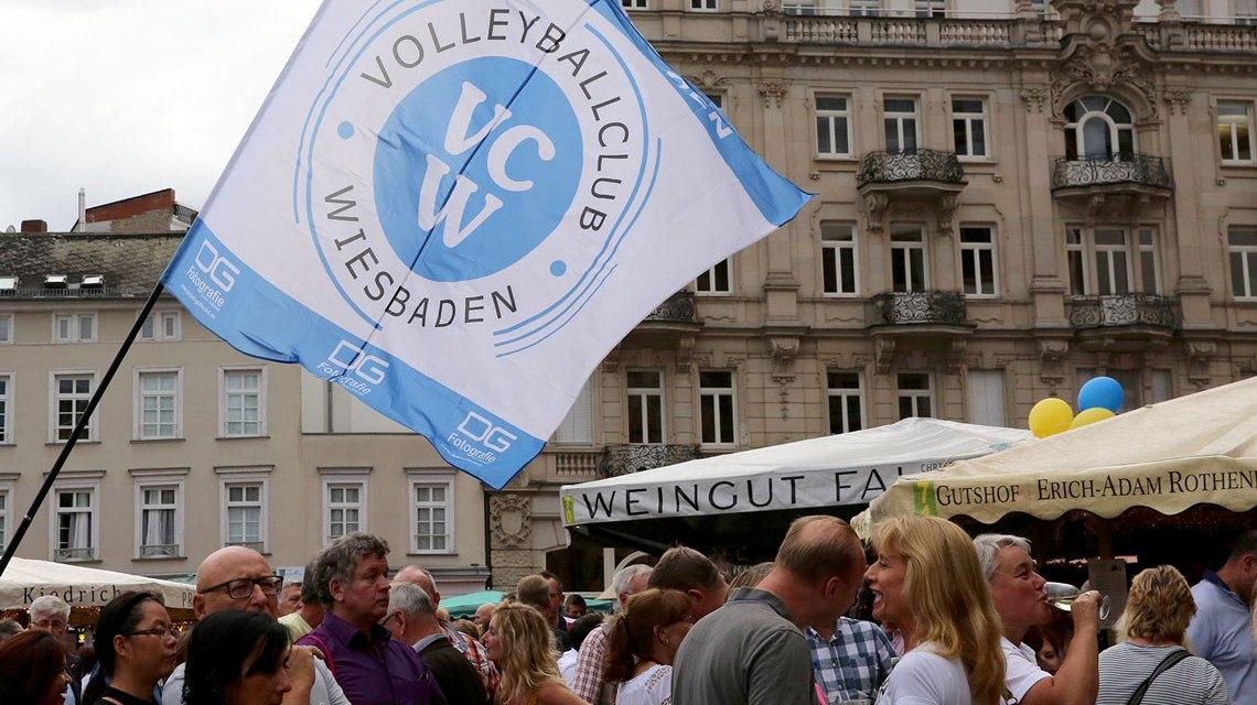 VCW auf der Rheingauer Weinwoche. ©2018 Archivbild Detlef Gottwald