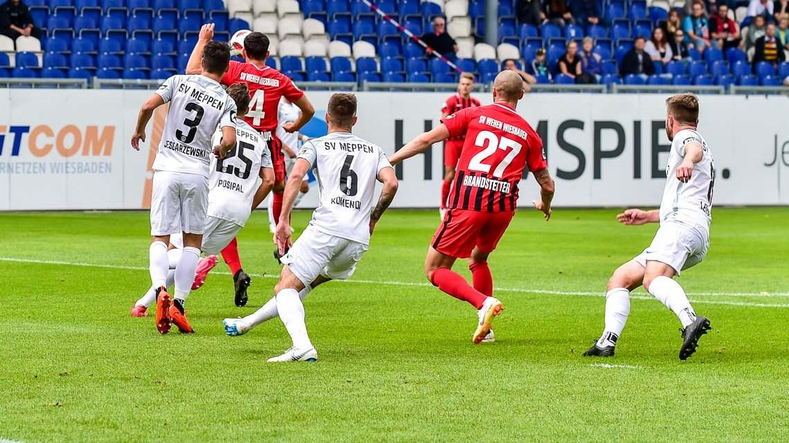 Es geht doch: Der SV Wehen Wiesbaden gewinnt 3:0 gegen Meppen