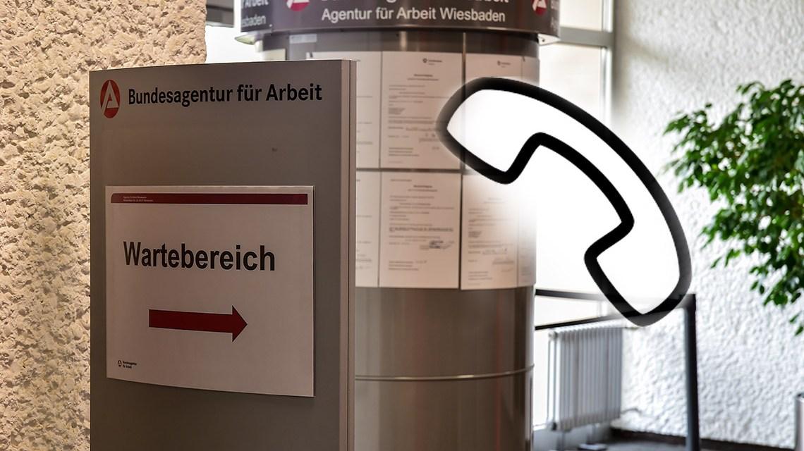 Telefonaktionstag der Agentur für Arbeit ©2018 Volker Watschounek