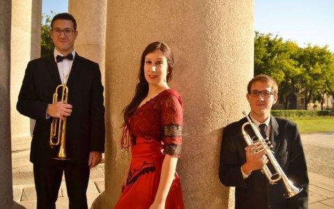 Peter Majer, Reka Martonffy und Miklos Majer, Interpreten im Rahmen der Daniel-Honsack-Gedächtniskonzerte ©2018 Künstler