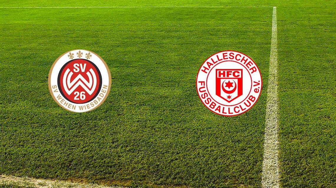 3. Liga | 11. Spieltag | SV Wehen Wiesbaden - Hallescher FC