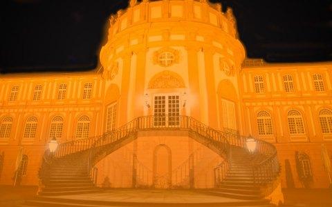 "Schloss Biebirch am ""Orange Day"" ©2018 Volker Watschounek"