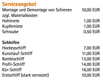 Service an der Henkell-Kunsteisbahn in Wiesbaden