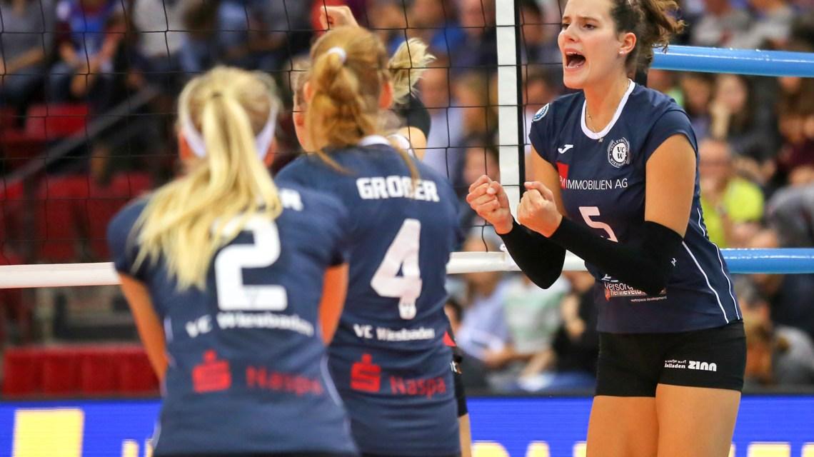 Nathalie Lemmens im Spiel gegen Stuttgart. ©2018 Detlef Gottwald