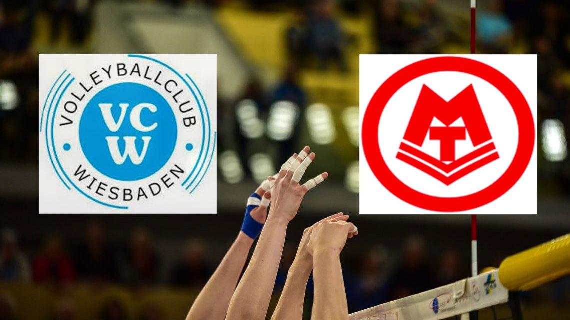 DV-Pokal Viertelfinale | 2018.2019 | 24. November 2018 | MTV Stuttgart - VC Wiesbaden