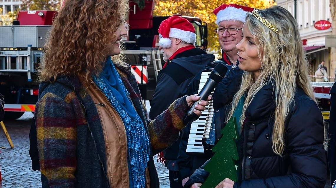 Wiesbadens Weihnachtsbaum 2018 steht