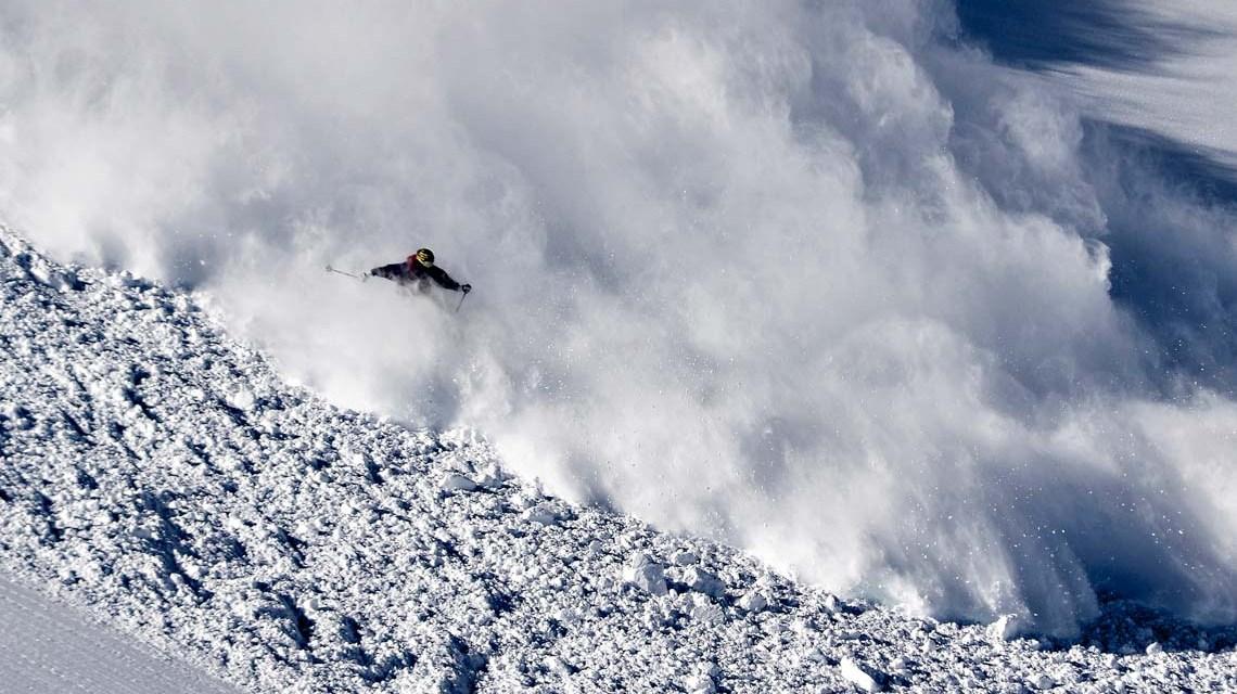 Die Skifahrerlawine ist für 95 Prozent der Lawinenunfälle abseits der Pisten verantwortlich. ©2019 WetterOnline