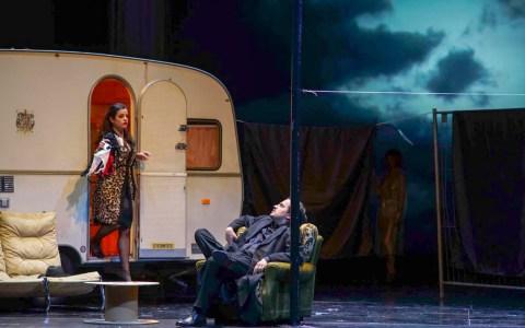 Silvia Hauer und Ioan Hotes in Rigeletto, einer Oper von Guiseppe Verdi ©2019 Karl Monika Forster