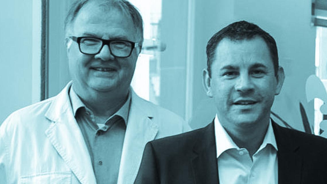 Ralph Schüler und Sven Gerich, einst Freunde. ©2019 Wiesbaden bearbeitet Wiesbaden lebt