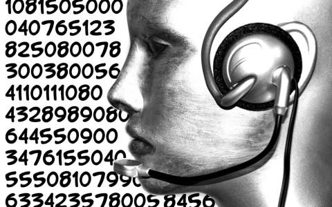 Telefonieren, Call Center Agent @2019 pixelio / Angela Parszyk