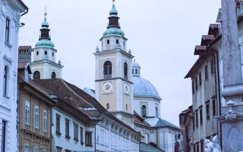 Ljuljana, Europas Kulturhauptstadt ist immer einen Stopp wert. ©2012 Volker Watschounek